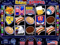 Play Bars and Stripes Slots now!