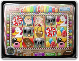 Play Candy Cottage Slots now!