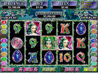 Play Enchanted Garden Slots now!
