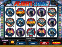 Play Flight Zone Slots now!