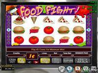 Play Food Fight Slots now!