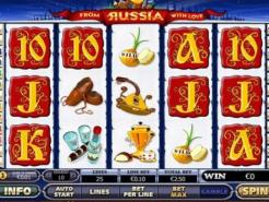 Play From Russia With Love Slots now!