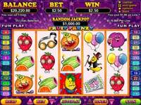 Play Fruit Frenzy Slots now!