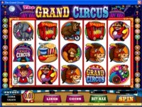 Play Grand Circus Slots now!