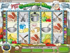 Play Jacques Pot Gourmet Slots now!