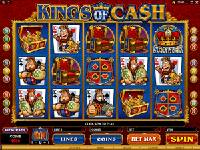 Play Kings of Cash Slots now!