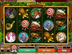 Play Robin Hood Feathers Slots now!