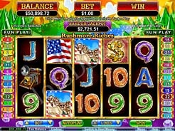 Play Rushmore Riches Slots now!