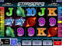 Play Starscape Slots now!