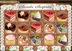 Play Sweets Surprise Slots now!