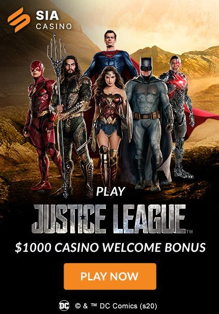 Sportsinteraction.com Now Hosts New DC Super Hero Slots