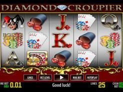 Diamond Croupier Slots