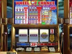 3-Reel Wheel of Chance Slots