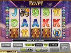 The Last King of Egypt Slots