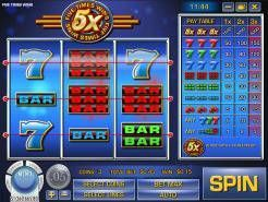 Five Times Wins Slots