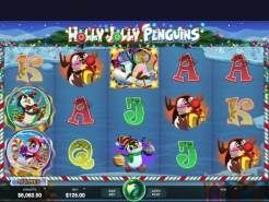 Holly Jolly Penguins Slots