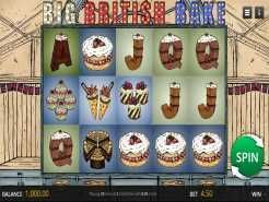 Big British Bake Slots